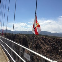 Photo taken at Royal Gorge Bridge & Park by Jonathan S. on 5/11/2013
