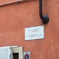 Photo taken at Osteria a la Carega by Eros Z. on 3/19/2016