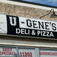 Photo taken at U-Gene's Deli And Pizza by Scott E. on 9/7/2016