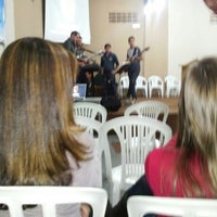 Photo taken at Igreja Quadrangular Bela Suiça by Fabiano T. on 4/20/2013
