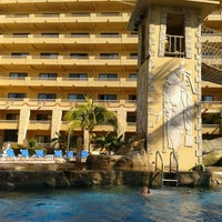 Photo taken at Alberca Paradise Village Pool by turismo o. on 12/1/2012