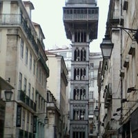 Photo taken at Elevador de Santa Justa by Agnon C. on 1/9/2013