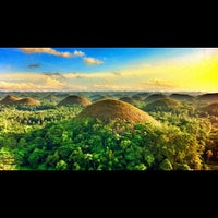 Photo taken at The Chocolate Hills by Marcee L. on 10/15/2012