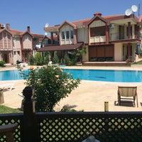 Photo taken at Akarsu Villaları Havuz Başı by ömer G. on 7/6/2014
