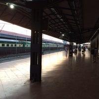 Photo taken at Rāwalpindi Railway Station by AQ K. on 6/2/2014