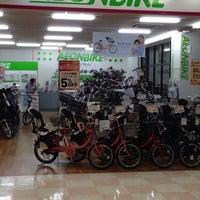 Photo taken at イオンバイク 港北センター店 by Toshi K. on 10/11/2013