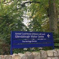 Photo taken at Glendalough Visitor Centre by Pratik G. on 10/14/2017
