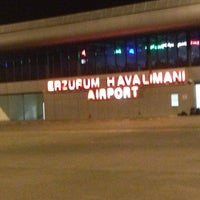 Photo taken at Erzurum Airport (ERZ) by Muhammed E. on 4/7/2013