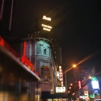 Photo taken at Booth Theatre by Lauren B. on 10/26/2012