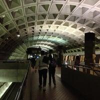 Photo taken at Pentagon Metro Station by Daron Y. on 11/12/2012