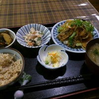 Photo taken at 野菜食堂 みさと屋 by にしむら on 12/16/2015