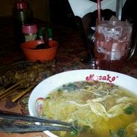 Photo taken at Soto ayam 61 by Renni K. on 9/29/2012