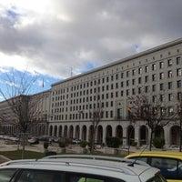 Foto tomada en Ministerio de Fomento por Jorge R. el 12/4/2012