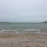Photo taken at Plage de la Concurrence by Louise S. on 3/11/2018