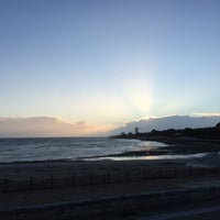 Photo taken at Plage de la Concurrence by Louise S. on 3/12/2018