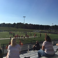 Photo taken at Bob Commings Field by Jeremy B. on 9/17/2015