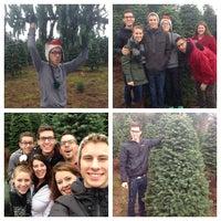 Photo taken at Eola Christmas Tree Farm by John F. on 11/29/2014