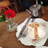 Photo taken at Mhor Bread Bakery & Tea Room by Laifelcha on 5/4/2013