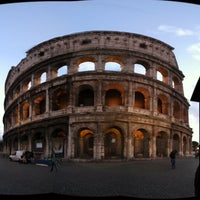 Photo taken at Piazza del Colosseo by Steve on 12/17/2012