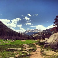 Photo taken at Rocky Mountain National Park by Steve on 6/8/2013