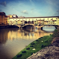 Photo taken at Ponte Vecchio by DANA💟 on 4/6/2013
