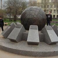 Photo taken at Площадь Строителей by Dmitriy S. on 5/11/2013