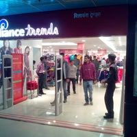 Photo taken at Reliance Trends by Suryateja G. on 11/19/2013