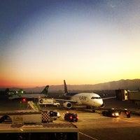Photo taken at Comodoro Arturo Merino Benitez International Airport (SCL) by Daniela M. on 7/25/2013