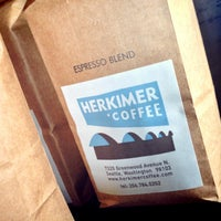 Photo taken at Herkimer Coffee by Daniel on 3/11/2013