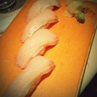 Photo taken at Kisaku Sushi by Daniel on 10/21/2012