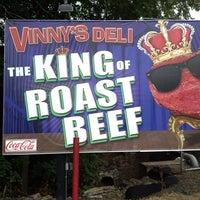 Photo taken at Vinny's Deli by Vinny J. on 8/29/2013