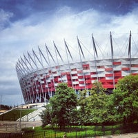 Photo taken at PGE Narodowy by Krzysztof on 7/25/2013
