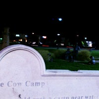 Photo taken at Public Art- FRISCO (Cow Camp) by Buddy C. on 7/24/2013