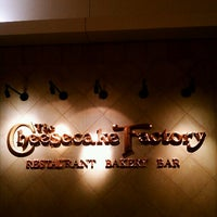 Photo taken at The Cheesecake Factory by Buddy C. on 1/21/2013