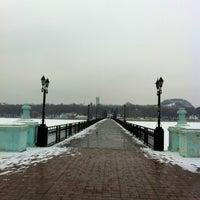 Photo taken at Парк Щербакова by Aleksandra on 2/21/2013
