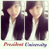 Photo taken at President University by Harnessia Caroline W. on 1/24/2014