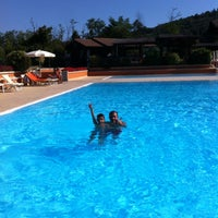 Photo taken at Golf Piscine by Lara on 8/11/2013