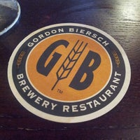 Photo taken at Gordon Biersch Brewery Restaurant by Gladys P. on 5/8/2013
