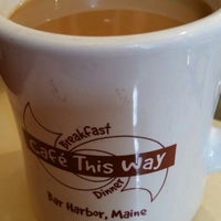 Photo taken at Cafe This Way by Allison J. on 7/3/2014