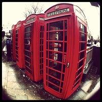 Photo taken at London by Марьяна on 12/31/2012