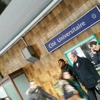 Photo taken at Station Cité Universitaire [T3a] by Mario L. on 10/19/2015