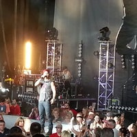 Photo taken at DTE Energy Music Theatre by Christie H. on 6/17/2013