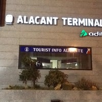 Photo taken at Alacant Terminal Railway Station by Alexander P. on 5/10/2013