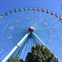 Photo taken at Texas Star Ferris Wheel by Liz on 10/19/2013