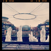 Photo taken at The Woodlands Mall Fountain by Arturo D. on 12/12/2013