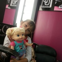 Photo taken at Cristina Gomez Hair Studio by Lorraine on 12/28/2012