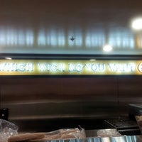 Photo taken at Which Wich? Superior Sandwiches by Jonathan P. on 1/8/2013