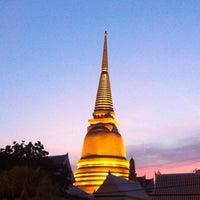 Photo taken at Wat Bowon Niwet by Clickzilla P. on 12/31/2012
