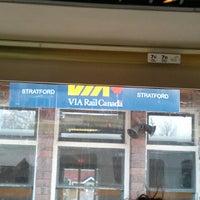 Photo taken at VIA Rail Stratford by Jason C. on 5/3/2013