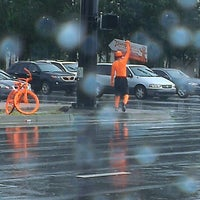 Photo taken at University Pkwy & Honore Ave by Lance G. on 8/6/2013